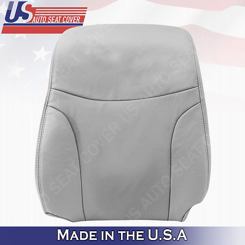 Fits 2002 to 2006 Lexus ES300 Driver Top Leather Seat Cover Gray