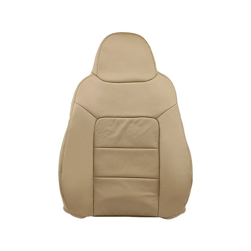 2003 - 2006 Ford Expedition Limited Driver top Perforated Leather Seat Cover Tan