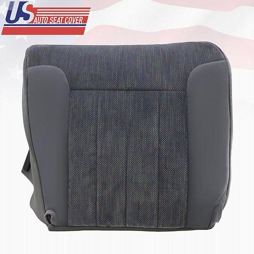 1994-1996 Dodge Ram 1500 SLT Passenger Side Bottom Cloth Cover Gray w/ Piping