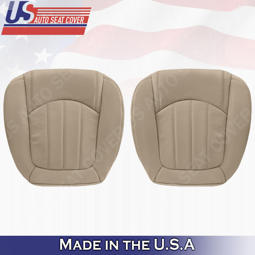 seat enclave leather buick lower tan 2008