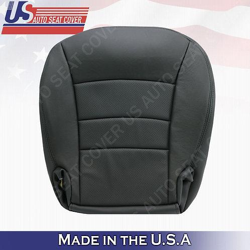 2005 TO 2013 Chevy Corvette Passenger Bottom Perf. Leather Cover Black