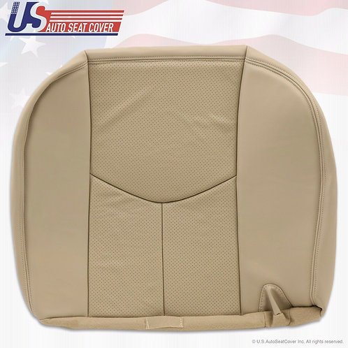 2003-2006 Cadillac Escalade ESV 2nd Row Driver Bottom Leather Tan