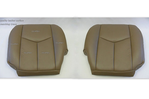 2003-2006 Chevy Silverado 1500 HD Bottoms Leather Seat Cover Tan