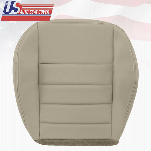 2006-2010 Dodge Charger- SE R/T SXT- Driver Bottom Leather Seat Cover Tan