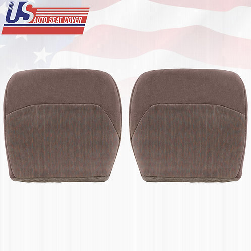 1994- 1997 Ford F150 XLT Driver & Passenger Bottom Cloth Seat Cover Tan