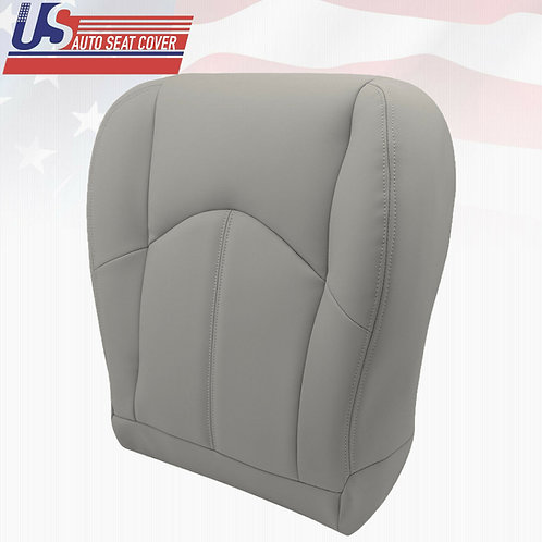 Fits 1999-2003 Lexus RX300 Passenger Bottom Leather Seat Cover Gray