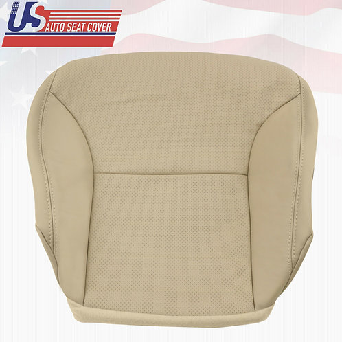 Fits 2002-2006 Lexus ES300 Passenger bottom Leather Perforated Seat Cover Tan