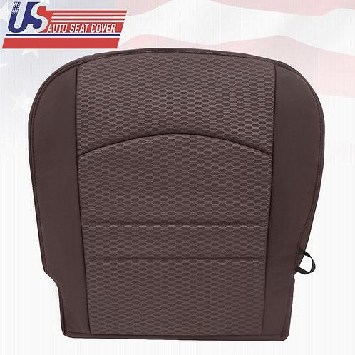 2013 - 2018 Dodge Ram 1500 SLT Driver Bottom Cloth Seat Cover Canyon Brown