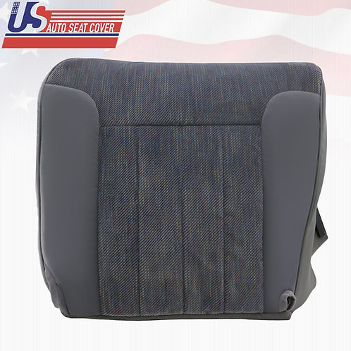1994-1996 Dodge Ram 1500 SLT Driver Side Bottom Cloth Cover Gray w/ Piping