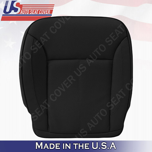 For 2007-2012 Mercedes Benz GL450 Driver Bottom Perforated Leather Cover Black