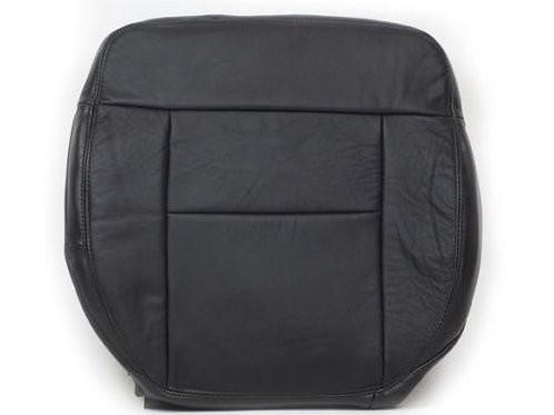 2004-2008 Ford F150 FX4 4X4 4WD Driver Side Bottom Leather Seat Cover Black