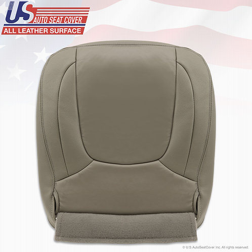 2003-2005 Dodge Ram Laramie Passenger Bottom seat cover Taupe