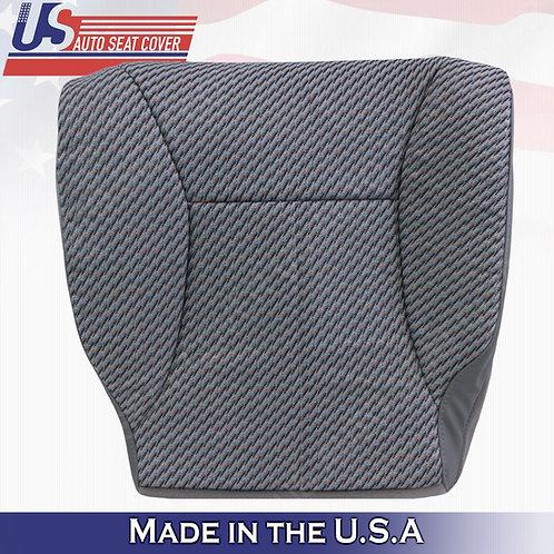 1998-2002 Dodge Ram WT Passenger Bottom Seat Cover Mist Gray