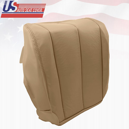 2006 Passenger Side Bottom Leather Seat Cover Tan Fits Nissan Murano S SE Sport