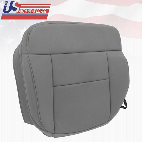 2004-2008 Ford F150 Lariat Front Bottom Replacement Cloth Seat Cover FLINT GRAY