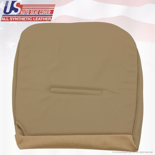 2002-2007 Ford F450 XL Work Truck Driver Bottom Vinyl Seat Cover Tan