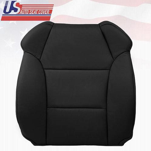2007- 2013 Acura MDX Base Model PASSENGER Lean Back Leather Seat Cover Black