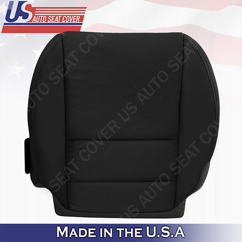 Driver Bottom Perforated leather seat cover BLACK for 2007-2012 Acura MDX