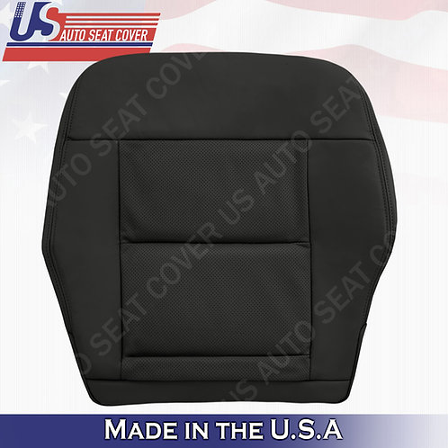 For 2010-2014 Mercedes Benz E350 Passenger Bottom Perforated leather Cover Black