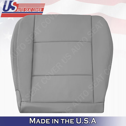 1998-2004 Toyota Land Cruiser Driver Bottom Leather Seat Cover in Gray