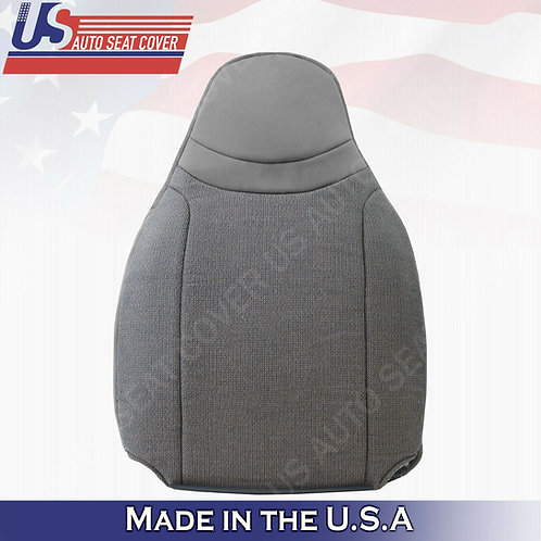 For 2000-2002 Ford Ranger XL XLT Driver Top CLOTH Seat Cover Gray
