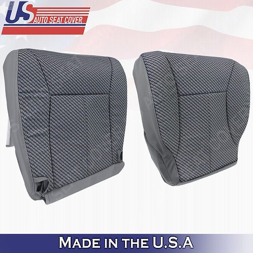 1998-2002 Dodge Ram WT or Extended Cab BOTTOM Cloth Seat Cover Dark gray