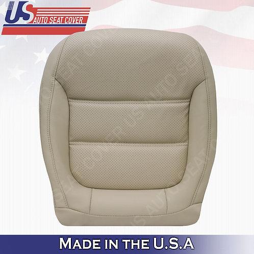 2011-2016 Volkswagen Jetta Leather Seat Cover Passenger Bottom Tan