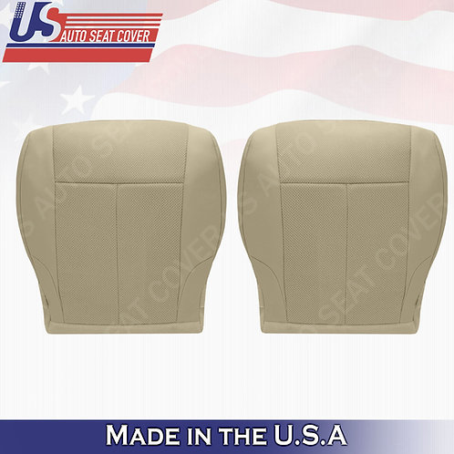 For 2007-2012 Nissan Altima Driver & Passenger bottom cloth seat cover tan