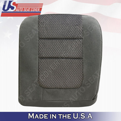 2001 Ford F-250 XLT Crew-Cab Driver Bottom Cloth Seat Cover Gray