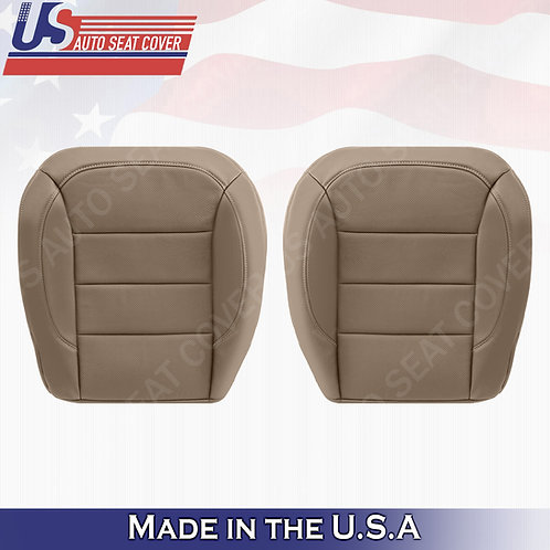 For 2012 to 2015 Mercedes Benz ML250 Front Bottoms Perforated Leather Cover Tan