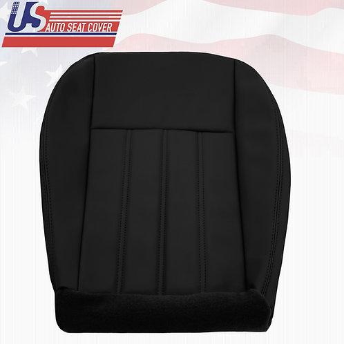 For 2005- 2010 Chrysler 200 300 Driver bottom Vinyl Seat Cover Black
