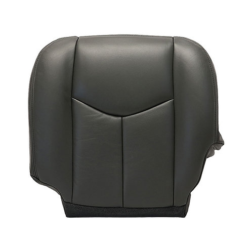2003 - 2007 Chevrolet Silverado Passeger Bottom Seat Cover Dark gray