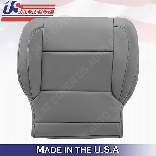 2015-2018 Chevy Tahoe, Suburban, GMC Yukon Driver Bottom Seat Cover in Gray