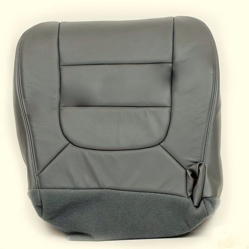 2001 2002 2003 Ford F150 Lariat  Bottom Replacement Leather Seat Gray