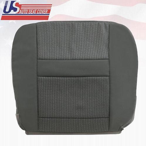 2007-2010 Dodge Ram 2500 Passenger Bottom Cloth Seat Cover Med. Slate Gray