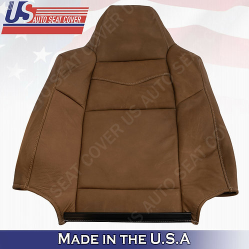 2003 - 2007 Ford F250 F350 450 KING RANCH Front Top Leather Seat Cover