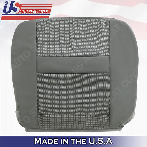 2006- 2010 Dodge Ram Driver Bottom Cloth seat cover in gray
