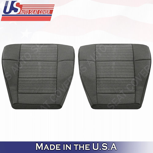 2003 Ford F150 Driver & Passenger Bottom Cloth seat cover in Gray