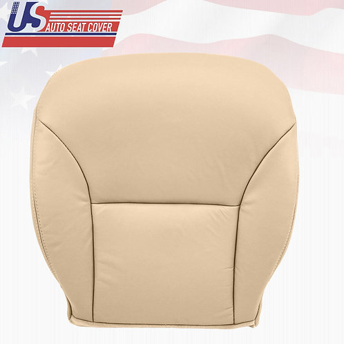 Fits 2002-2006 Lexus ES300-ES330 Passenger Bottom Leather Seat Cover Tan
