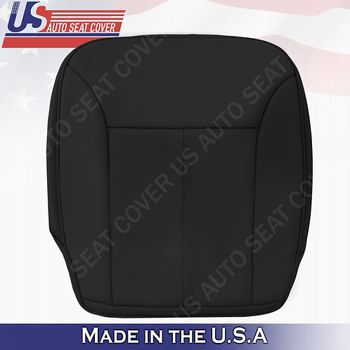 For 2007-2012 Mercedes Benz GL350 Driver Bottom Leather Seat Cover Black