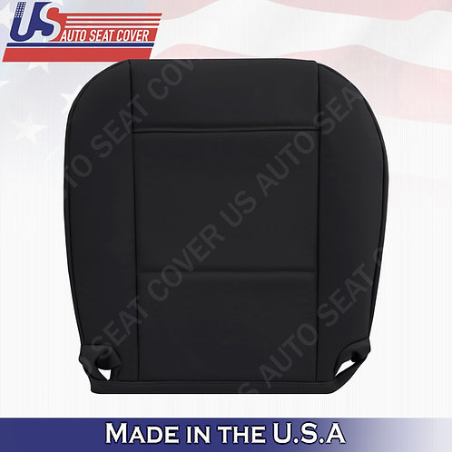 For BMW 325I 350I 1999 to 2006 Passenger Bottom Leather Seat Cover Black