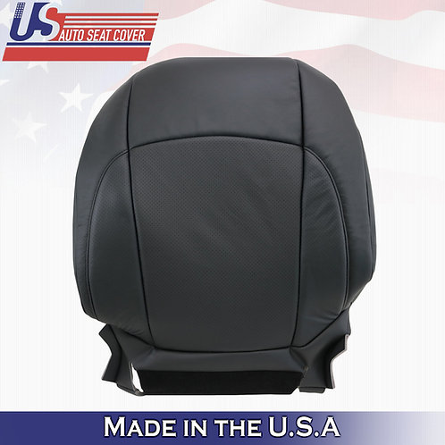 For 2007-2012 Lexus ES350 Driver Top Perforated Leather Seat Cover Black