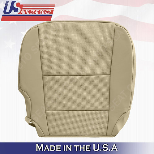 Passenger Bottom Perforated leather tan cover fits 2013-2018 Acura RDX
