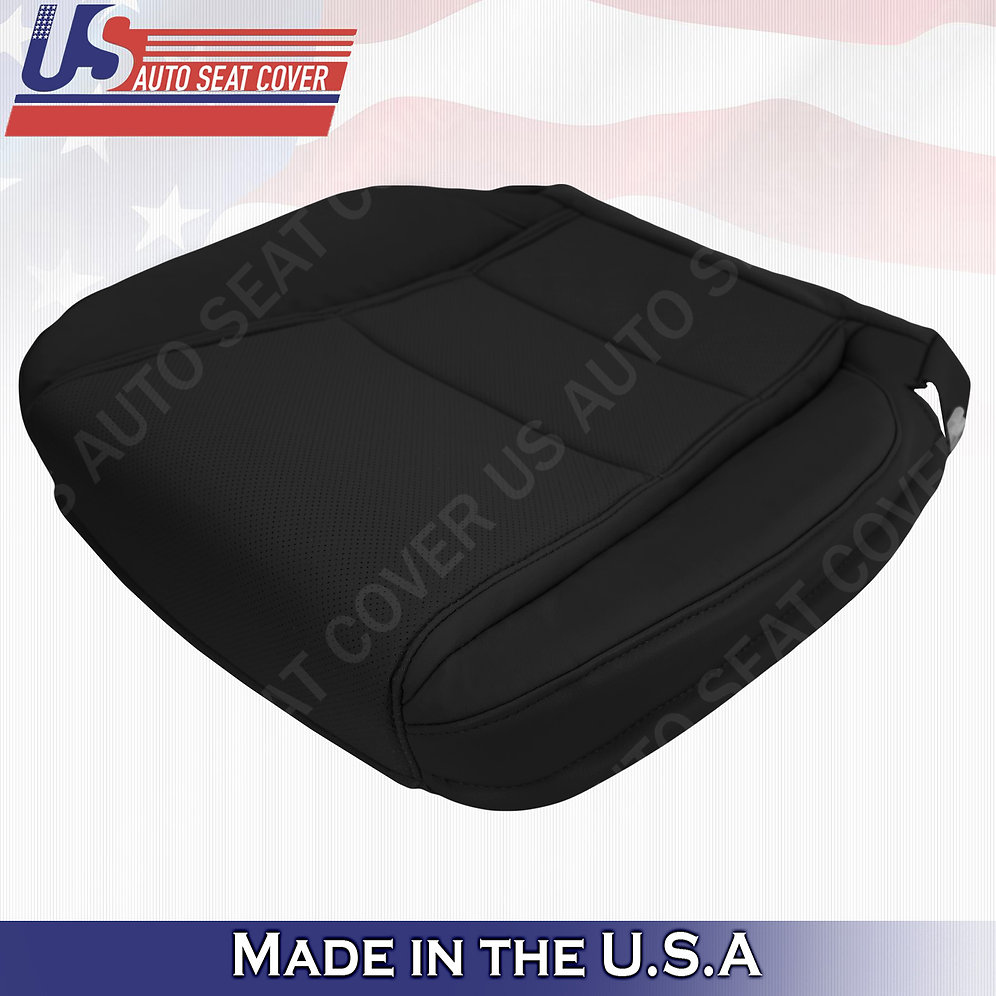 Driver Perforated Bottom Black Leather Fits 2009-2014