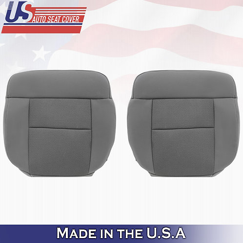 2004-2006 Ford F150 FX2 Driver Passenger Bottom Cloth Seat Cover in Gray