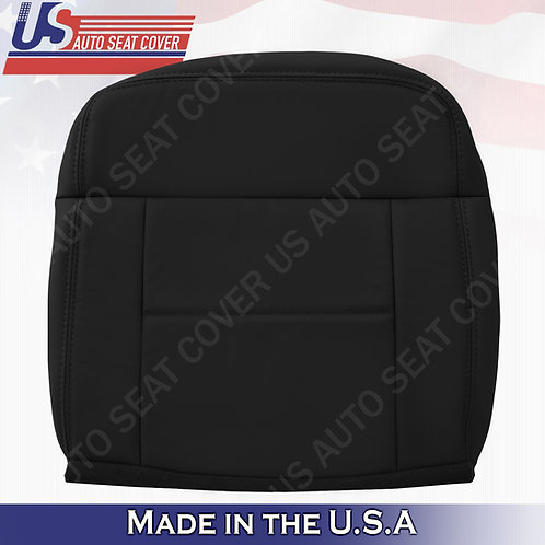 2004-2007 Ford F150 Lariat REAR Passenger Bottom Leather Blck Covers
