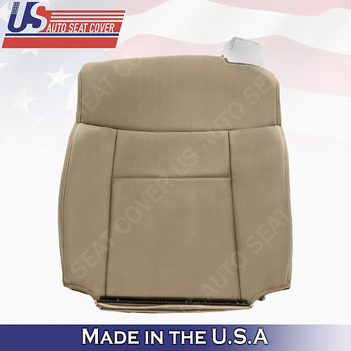 2004-2008 Ford F-150 Driver Top Cloth Seat Cover in Tan