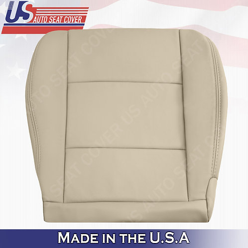 1998-2004 Toyota Land Cruiser Passenger Bottom Leather Seat Cover in Tan