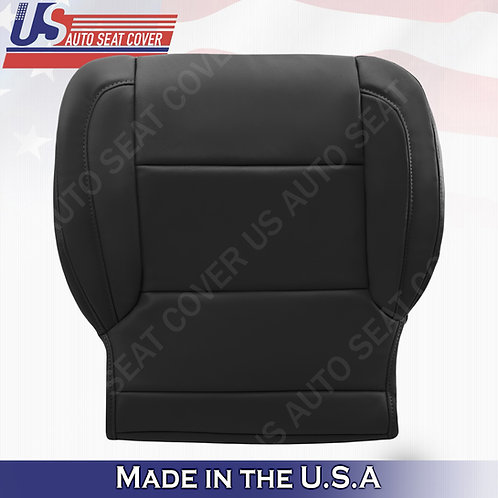 2015-2018 Chevy Tahoe, Suburban, GMC Yukon Passenger Bottom Seat Cover in Black