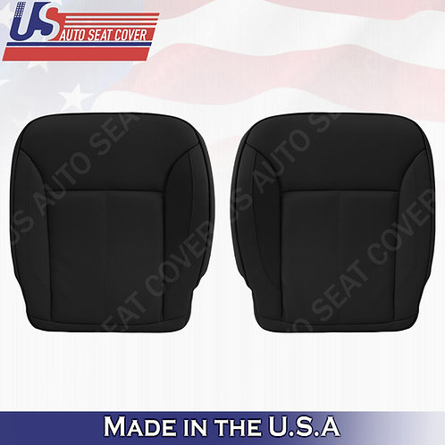 For 2007-2012 Mercedes Benz GL450 BOTTOMS Perforated Leather Cover Black
